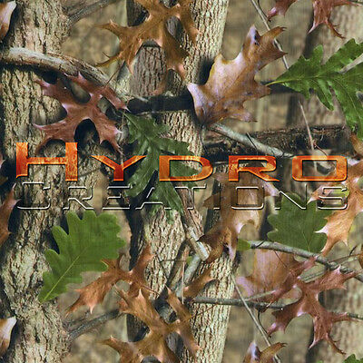 "HYDROGRAPHIC FILM FOR HYDRO DIPPING WATER TRANSFER FILM FALL CAMO - 19"" x 38.5"""