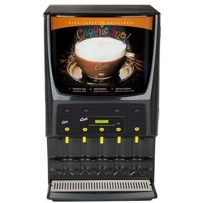 Curtis PCGT5 Cappuccino Dispenser - 5 Station **NEW** Authorized Seller