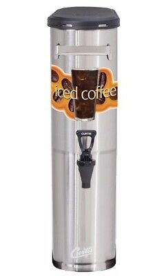 Curtis TCNC Narrow Iced Coffee Dispenser - 3.5 Gallon **NEW** Authorized Seller