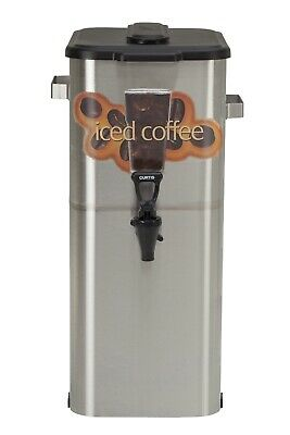 Curtis TCOC421 Oval Iced Coffee Dispenser 4 Gallon **Auth Seller** TCOC421G000