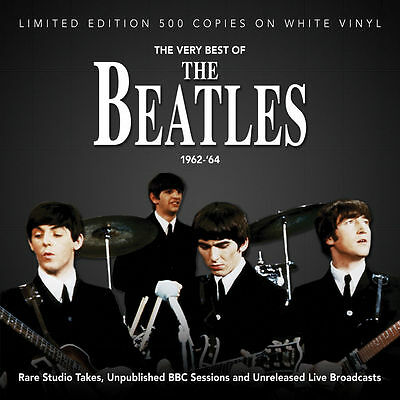 The Beatles 'The Very Best Of 1962-'64 Ltd Edition White Vinyl LP - NEW / SEALED