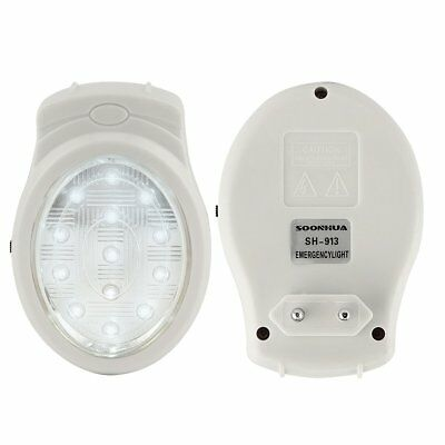 13 LED Rechargeable Home Emergency Light Outage Automatic Lamp Bulb EU 110-240V