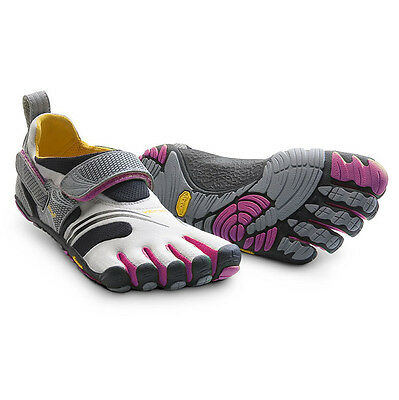 Vibram Five Fingers KMD Sport Womens Shoes Grey/Red