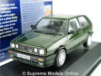 Corgi Va13604A Volkswagen Golf Model Car Mk2 Gti Oak Green 1:43 Vanguards K8