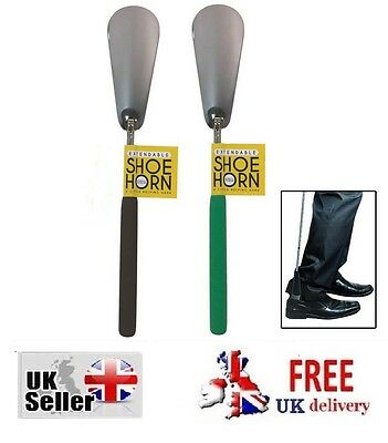 Telescopic Shoe Horn Extra Long Extendable Horns Help TRAVEL MOBILITY DISABILITY