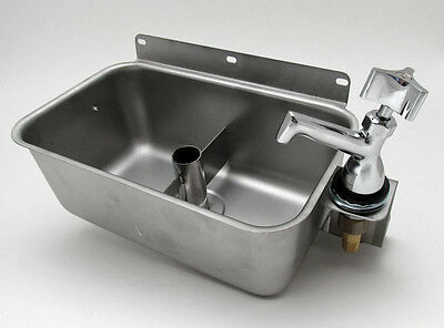 GSW/Allstrong HS-DSREG S/S Table Mount Dipperwell Sink W/No Lead Faucet