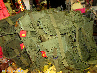 Alice Pack Genuine Us Military Issue Med/large Lc-1 Combat Field Pack Nylon
