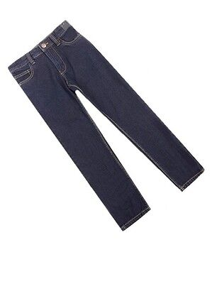 Next Boys Dark Blue Regular Jeans Adjustable Waist Years 4 8