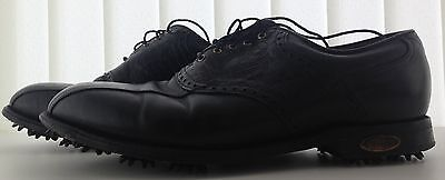 Footjoy Premier Classic Golf Shoes Leather Black US 10.5 D UK 9.5