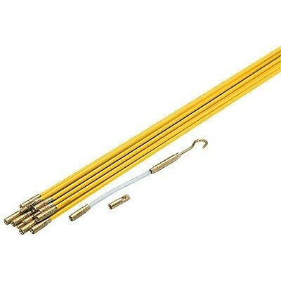 Long Extendable Fiberglass Wire Cable Running Fish Fishing Runner Rods