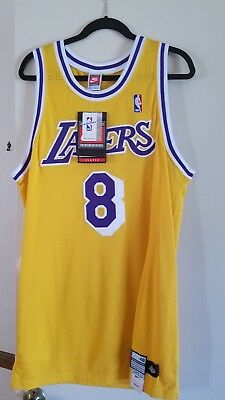bf5ffdd3eee1 Autographed Los Angeles Lakers Kobe Bryant Pro Cut Nike Jersey Rookie NWT  OFFER