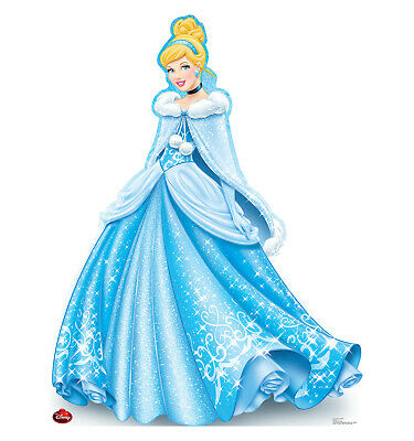 Cinderella Holiday Limited Edition Life Size Cardboard Cutout Standup Standee
