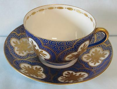 Pauly & Co Venezia Cobalt and Gold Cup & Saucer