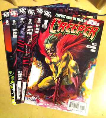 COMPLETE LOT The Creeper DC Comics miniseries 1 2 3 4 5 6 Steve Niles Justiniano