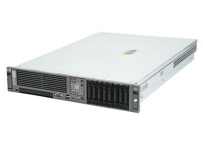 HP DL380 G5 Server 2 X Intel Xeon Quad Core 3.0Ghz 5450 32Gb RAM 500GB SATA