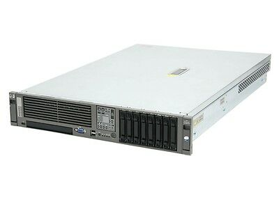 HP DL380 G5 Server 2 X Intel Xeon E5450 Quad Core 3.0Ghz  64Gb RAM 500GB SATA
