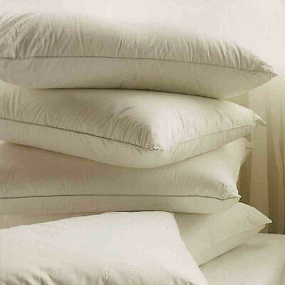 Luxurious 2 X Duck Feather And Down Pillows, Comfortable Pillows Hotel Quality