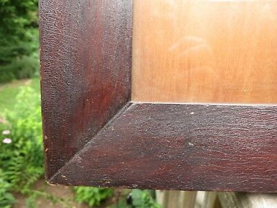 c1840 Excellent AMERICAN GRAIN PAINTED Folk Primitive FRAKTUR Antique Frame