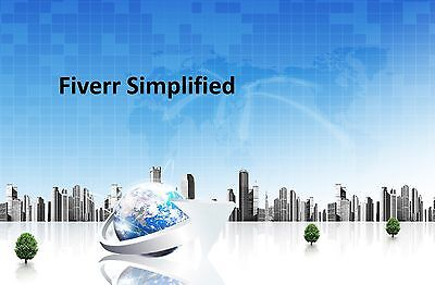 Fiverr Simplified - 15 Videos on 1 CD