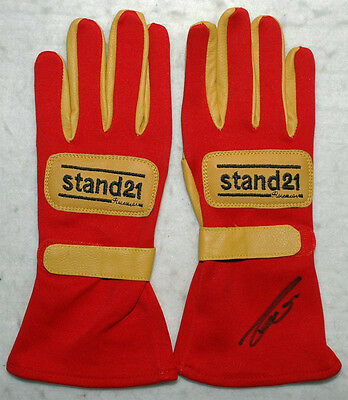 Niki Lauda Signed - Autographed - Racing F1 Gloves Pair with Proof