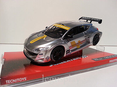 "Slot SCX Scalextric 6477 Renault Megane Trophy ""Silver"" - New"