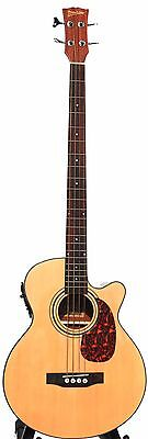 Acoustic Electric Bass Guitar 49 inch pickup EQ iBass241