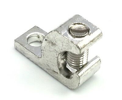 BURNDY CL501TN Tin Plated Lay-In Direct Burial Lug 4-14AWG 10-Hole