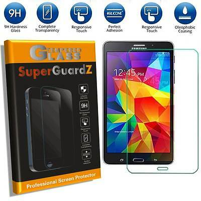 2X Tempered Glass Screen Protector Guard For Samsung Galaxy Tablet + LED Stylus