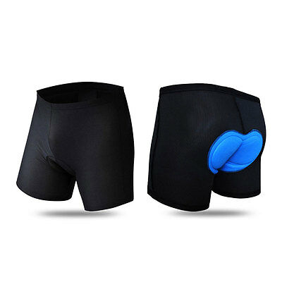 Cycling Bicycle Bike Unisex Short Pants Underwear Comfortable 3D Gel Pad Padded