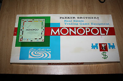 Monopoly Game 1961 Never Used ***FREE SHIPPING***