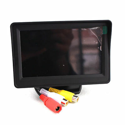 4.3 inch Foldable Car LCD TFT Rearview Monitor Screen for Car Backup Camera
