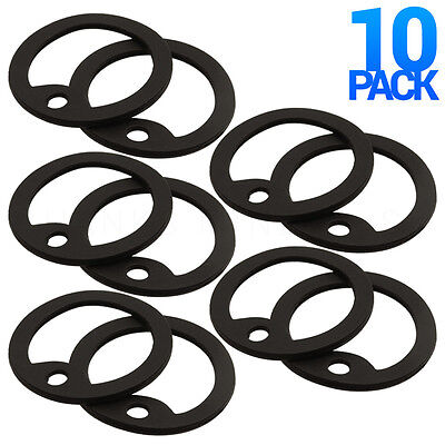 10x Dog Tag Silencers Military Army GI Dogtag Rubber Silicone Silencer USA Made
