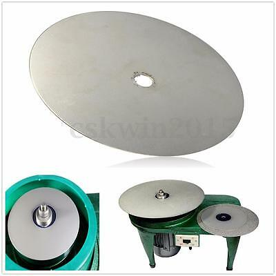 "6"" Inch Grit 320 Diamond Coated 150mm Flat Lap Jewelry Grinding Polishing Wheel"