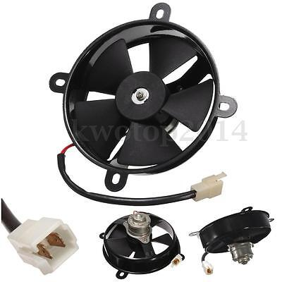 150c 200cc Electric Cooling Fan 6'' Inch Dia Radiator For Quad Dirt Bike Buggy