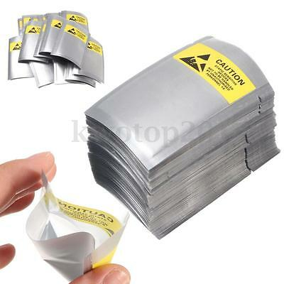 300x Lot Waterproof ESD Anti Static Shielding Bags 2.5''x4.5'' For Card Jewelry