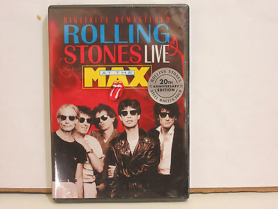 Rolling Stones - Live At The Max - DVD - PRECINTADO (SEALED)