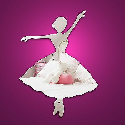 Ballerina Decorative Dance wall mirror  frameless shatterproof / safe