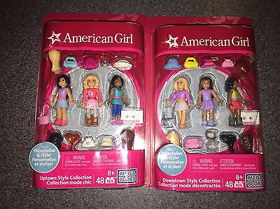 Nib American Girl Mega Bloks Downtown & Uptown Style Collection I Ship Everyday