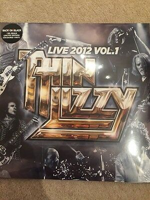 Thin Lizzy - Live 2012 Vol.1 - 2 X Vinyl Lp New Ltd Edt Coloured Vinyl