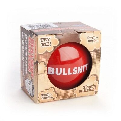 Bullshit Button – novelty funny gag bull shit press office prank desk talking