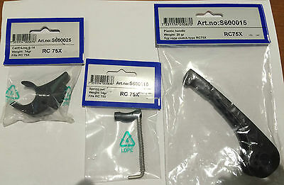 Rutgerson RC75 & RC750 Rope Clutch Parts     3 CHOICES OF PARTS