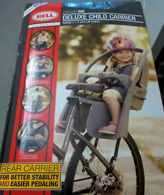 Bell Sports Cocoon 500 Deluxe Child Carrier ~ New