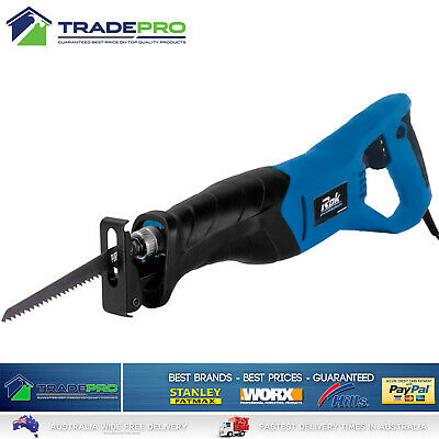 Reciprocating Recipro Saw 800w Quality PowerMaster® with 6pc Blade Kit Sabre Saw