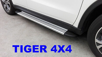 (#143) Mazda BT50 BT-50 Freestyle Cab 2012 to 2016 Running Boards Side Steps