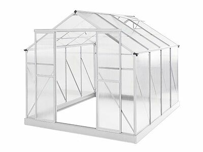 Greenhouse 10 x 8ft Silver Green Houses NEW