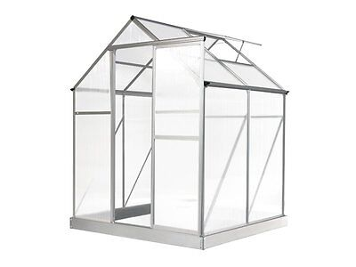 Evergreen Greenhouse 6 x 4ft Silver Green Houses NEW