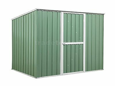 Garden Shed 2.6m x 1.75m x 1.9m Rivergum Tool Storage Sheds Steel NEW