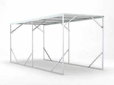 Carport 2.6m x 6.0m x 2.6m Cream Car Port Steel Portable RV Boat NEW