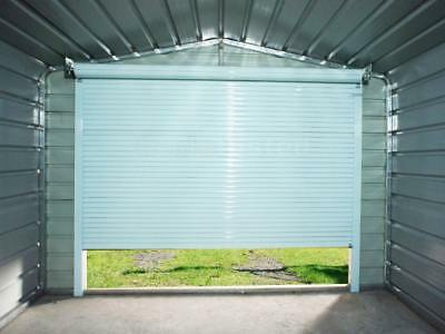 Garage Roller Door Aluminium 2.6m x 2.2m Garages Steel NEW
