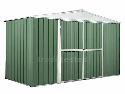 Garden Shed 3.45m x 1.75m x 2.1m Rivergum Storage Sheds Colorbond NEW